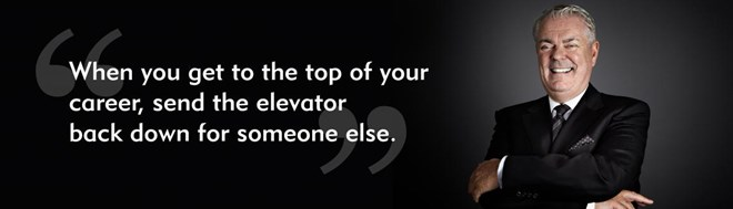 Elevator mentors Don McCarthy